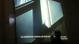 Poética de la Construcción - Arq. Christian Vargas