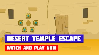 Desert Temple Escape · Game · Walkthrough