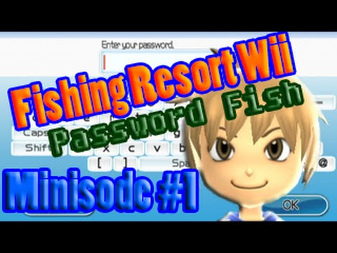 Fishing Resort Wii 100% - Minisode 1 - How To Get Password Fish On Your Game