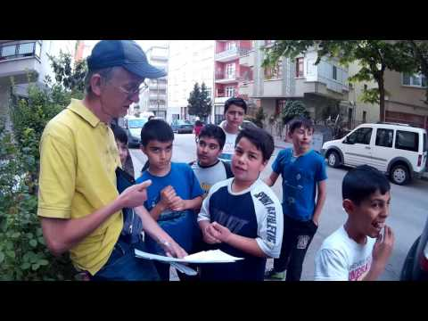 Ankara, Turkiye: Talk with Turkish Children, Part-1, 20.05.2016 in Ankara
