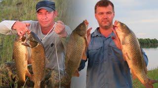 БЕШЕНЫЙ КЛЁВ САЗАНА и ОГРОМНЫХ КАРАСЕЙ на жмыховки на Ахтубе 2021 часть 2 Рыбалка в Астрахани