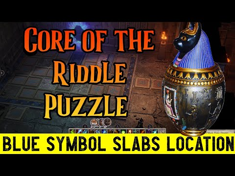 Core of the Riddle Puzzle - Pathfinder: Wrath of the Righteous (Blue Slabs Location) |