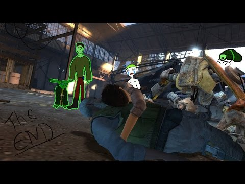 Half Life 2 Episode 2-Part 14 Final-Magnuson thanks Gordon-Rocket is Launched-Advisors Kill