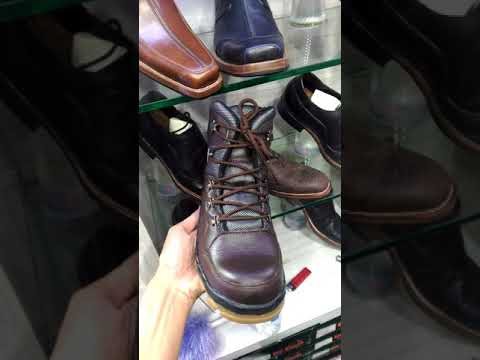 Sepatu boots safety made in bandung