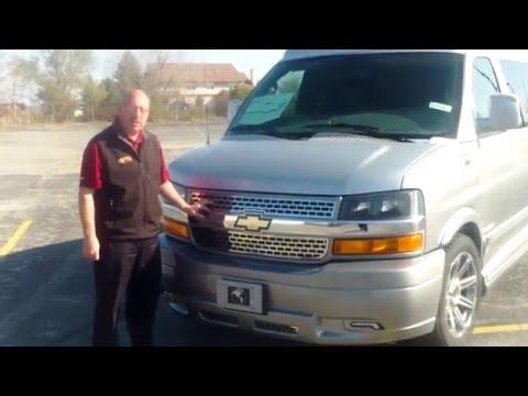 2016 Chevrolet Express Explorer Conversion Van Video Walk-Around by Mike Diamond at Apple Chevrolet