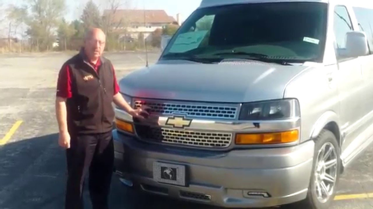 2016 Chevrolet Express Explorer Conversion Van Video Walk Around By Mike Diamond At Apple