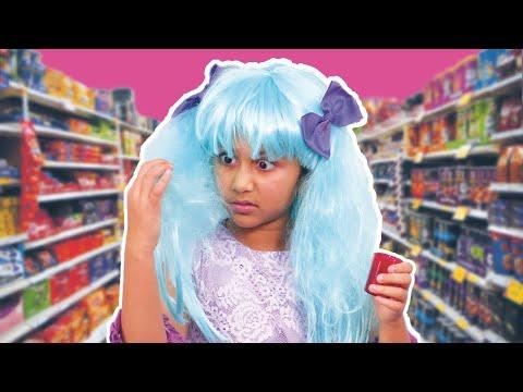 Kiddyzuzaa | Hair Color Prank And More ! | Princesses In Real Life | WildBrain Cartoons