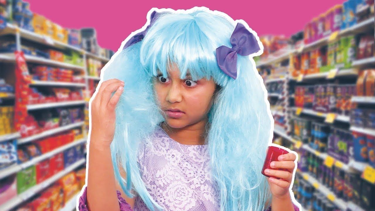 Kiddyzuzaa   Hair Color Prank And More !   Princesses In Real Life   WildBrain Cartoons