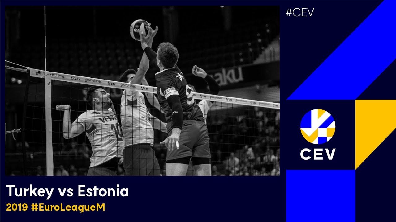 Turkey vs Estonia FULL MATCH - 2019 CEV Volleyball European Golden League Men