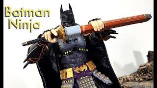Bandai Tamashii Nations SH Figuarts DC Batman Ninja NINJA BATMAN Action Figure Toy Review