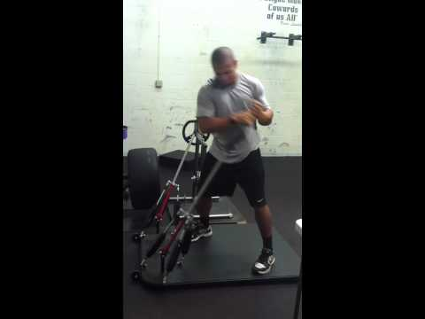 Indianapolis Colts RB Donald Brown training on the Powermax 360 at PitFit Training