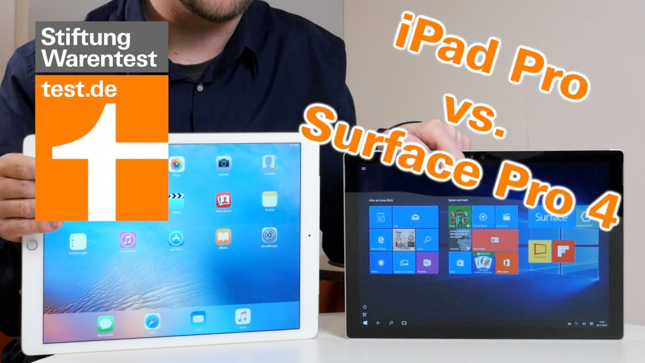 test ipad pro vs surface pro 4 im vergleich welches. Black Bedroom Furniture Sets. Home Design Ideas