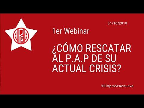 ¿Cómo RESCATAR Al Partido Aprista Peruano De Su Actual Crisis?