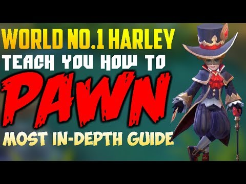 WORLD BEST HARLEY teaches you HOW TO | MOBILE LEGENDS HARLEY GUIDE