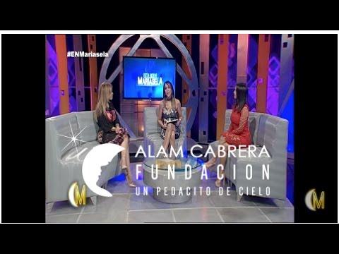 Entrevista a la presidenta de la fundación Alam Cabrera - Esta Noche Mariasela