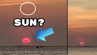 UFOs seen during sunset in California! Sept 22,2019