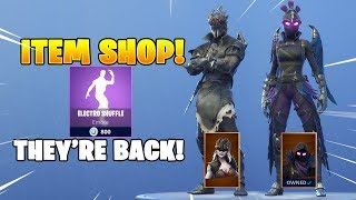 *NEW* RAVAGE & SPIDER KNIGHT SKINS Are Back! Fortnite Item Shop February 23, 2019