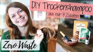 Trockenshampoo Anwendung + selbermachen | ZERO WASTE | Lilies Diary
