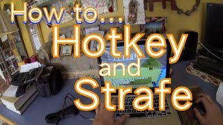 PvP School #1 | How to Hotkey and Strafe
