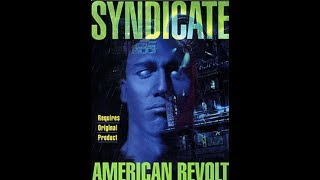Syndicate American Revolt (1993) - DOS Gameplay Video (PC MS-DOS)