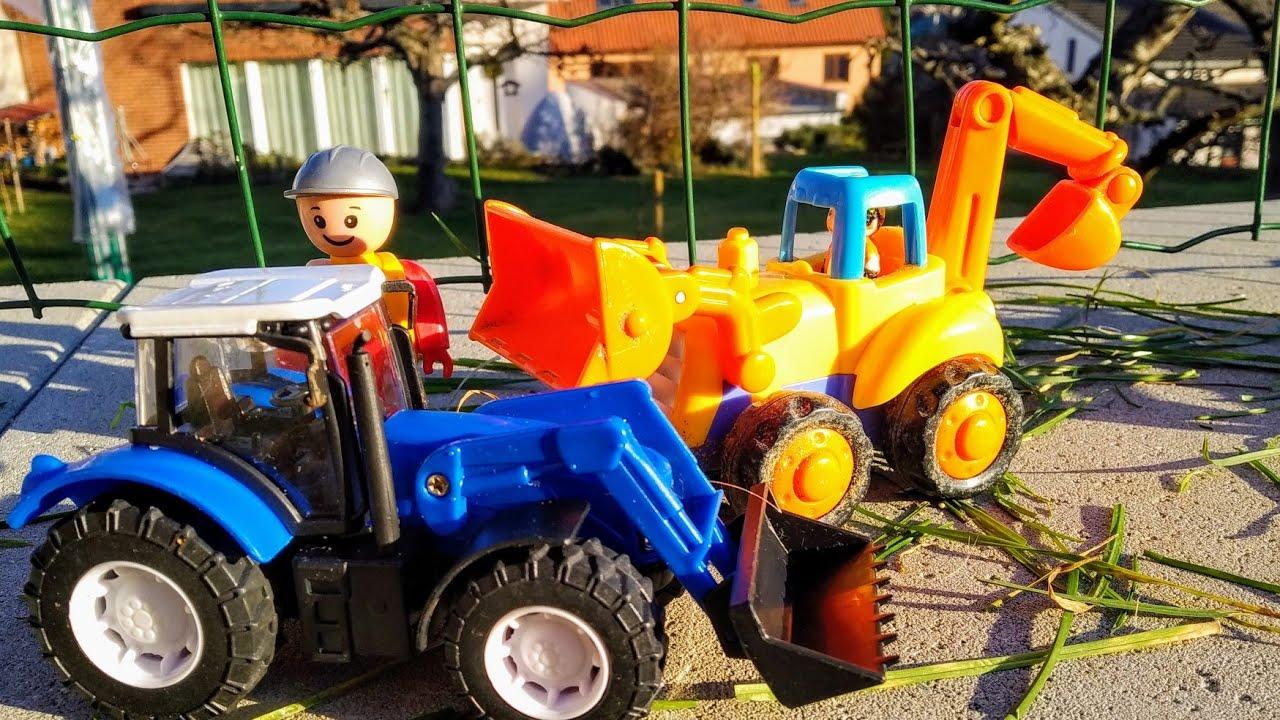 Мультики про машинки. Синий трактор и его друзья. Машинки ...