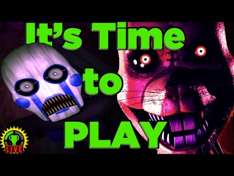 Five Nights at Candy's 3 is Finally Here! | FNAC 3 (Part 1)
