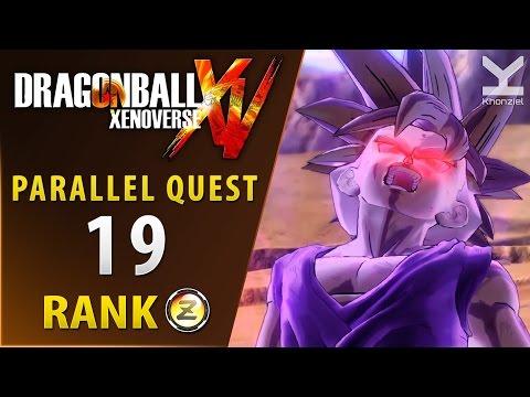 Dragon Ball Xenoverse - Parallel Quest 19 - Rank Z