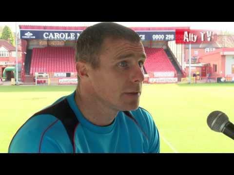 Altrincham Vs Kidderminster - Robbie Lawton Post-Match Interview