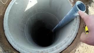 сделали вечную автономную канализацию и понимаем как она будет работать