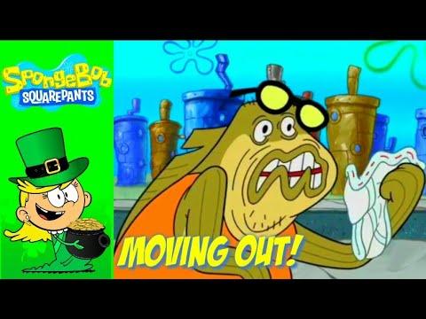 Bubble Bass Moving Out | Season 11 | Spongebob Squarepants