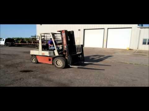 Nissan RGH02A30V Forklift For Sale
