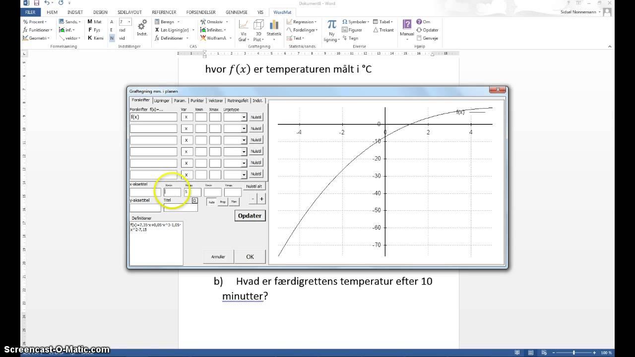 At skrive forklarende tekst i en matematikaflevering
