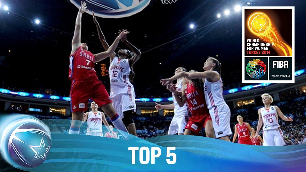 Top 5 - 3 October - 2014 FIBA World Championship for Women