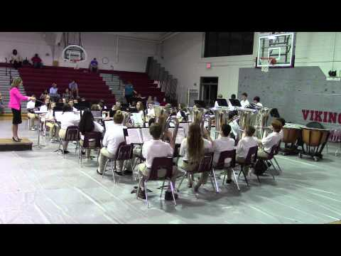 Trey's Band Concert, March 2015 (3rd Song-Huntington Ridge)