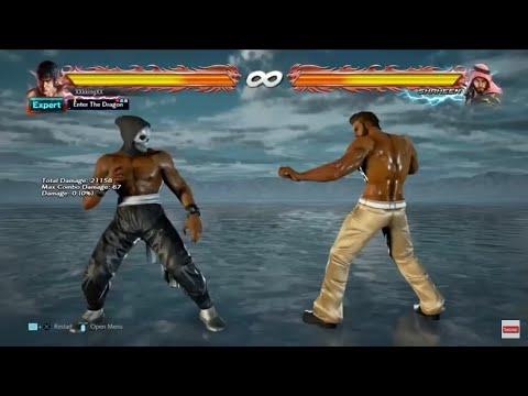 Tekken 7: Marshall Law DSS Tutorial & Combos