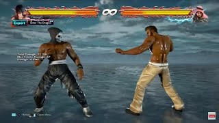 Tekken 7: Marshall Law DSS Tutorial & Combos