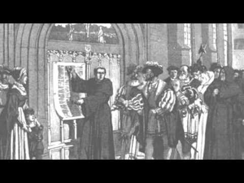 Martin luther posts 95 thesis