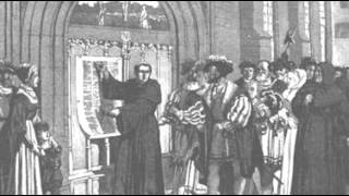 31st October 1517: Martin Luther reputedely posts his 95 Theses