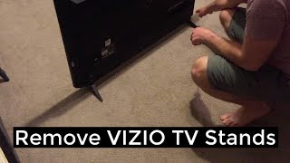 Vizio TV- Remove/Replace Stands