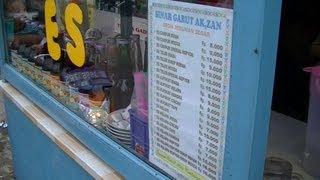 Jakarta Street Food 277 Ice Mixed Es Campur Sinar Garut Ak,zan