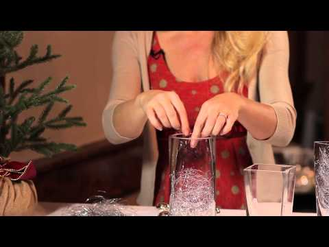 How to Decorate With Tinsel : Party for the Holidays
