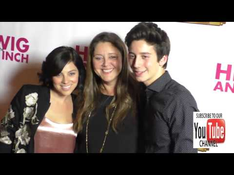 Camryn Manheim and Krysta Rodriguez at the  Night Of Hedwig And The Angry Inch at the Pantage