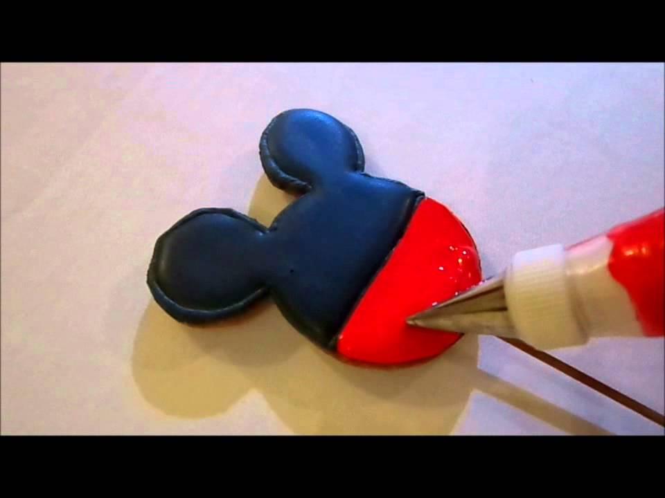 Galletas de Mickey y Minnie Mouse II  YouTube