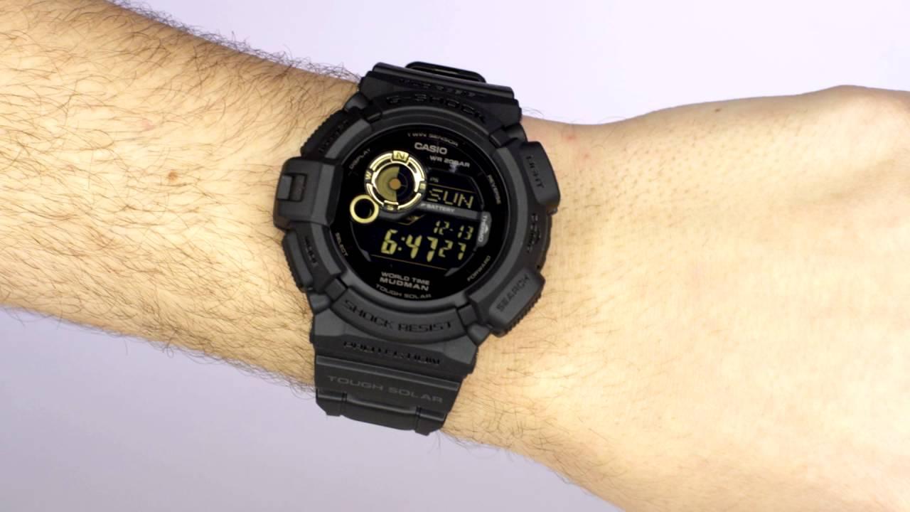 Casio g-shock mudman watch g-9300-1d g-9300.