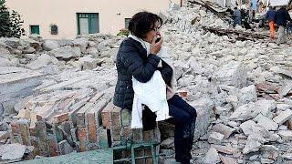 They are left under the rubble: survivors in Italy describe earthquake terror