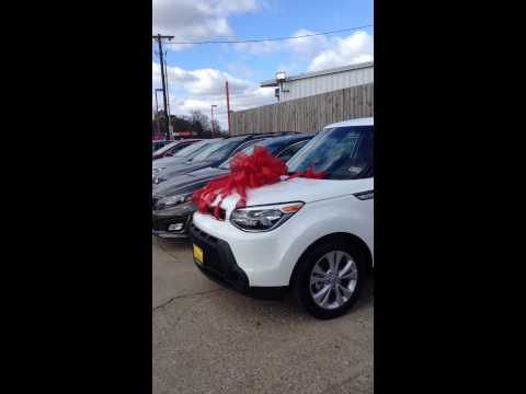 Dad surprises Mom with a New Car