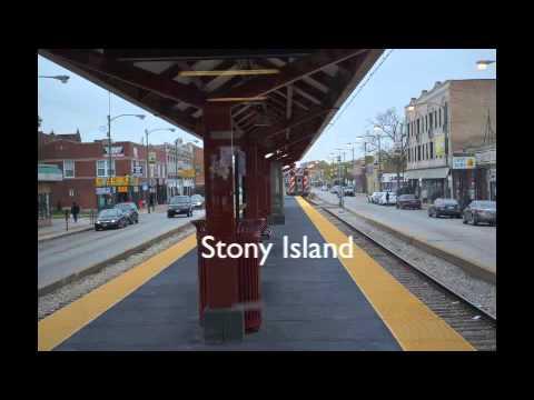 Chicago South Shore Neighborhood, 71st & Jeffery Bryn Mawr Metra Electric Train