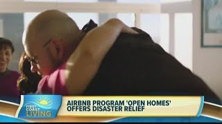 """Gambar cover AirBnb program """"Open Homes"""" offers disaster relief (FCL July 23rd)"""