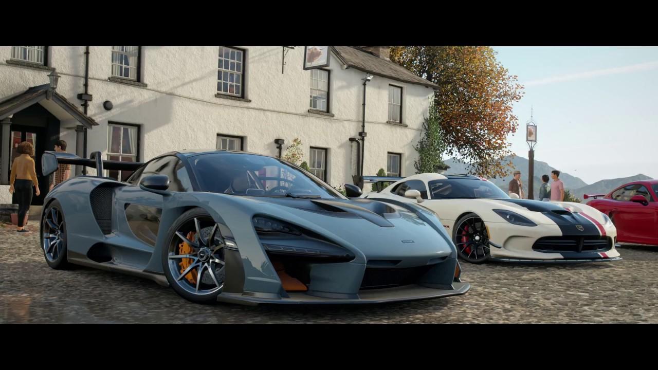 Forza Horizon 4 Gameplay 4K - E3 2018 Demo