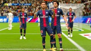 FIFA 19 - PSG vs Strasbourg Ligue 1 Full Match